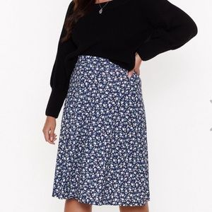 Plus Nasty Gal Skater Skirt
